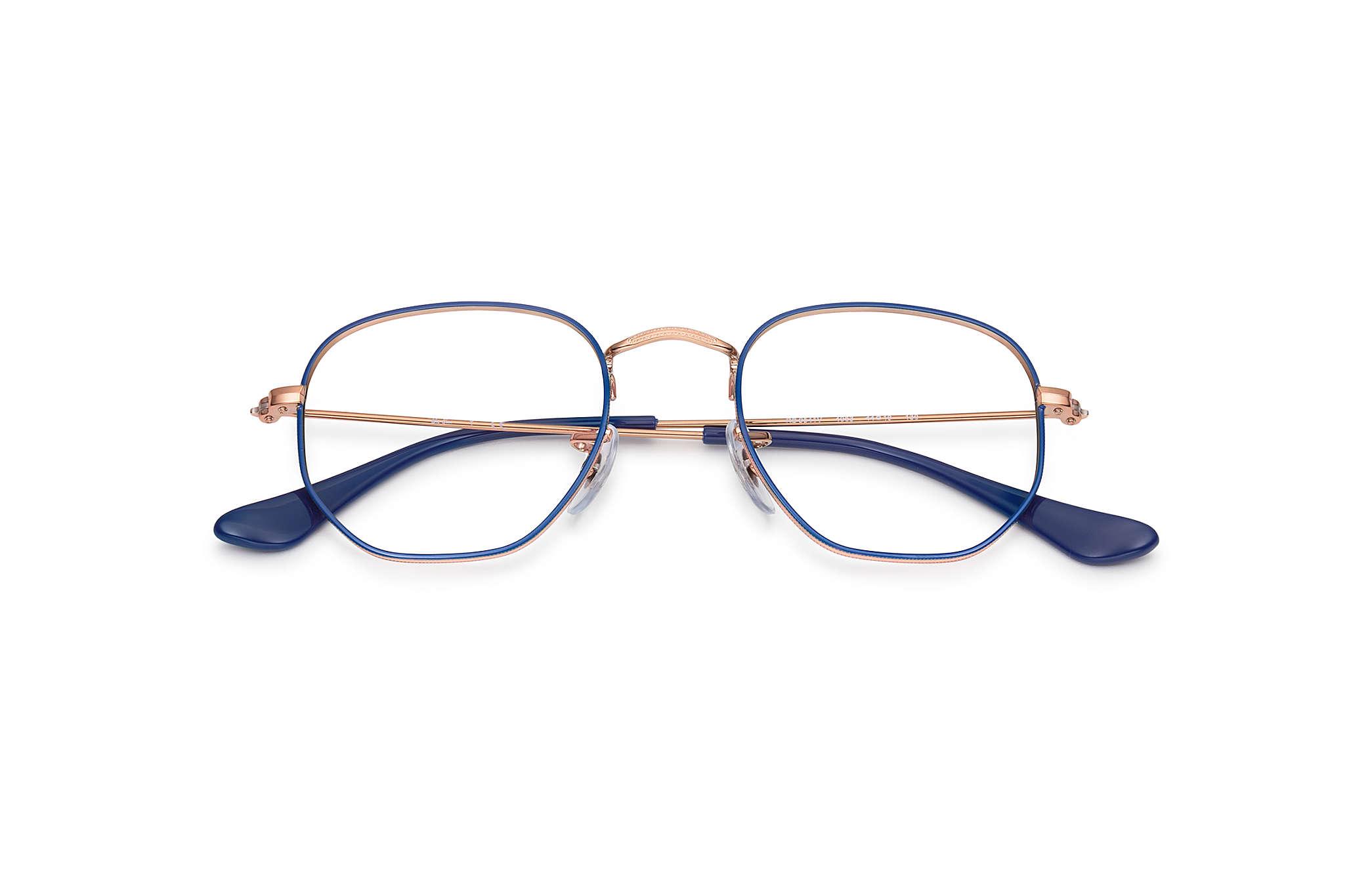0e48fc5c0a Ray-Ban prescription glasses Hexagonal Junior Optics RY9541V Blue ...