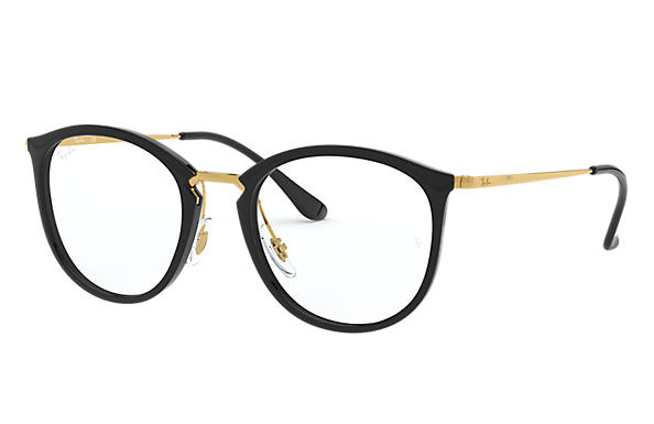 Ray-Ban 0RX7140-RB7140 Schwarz; Gold OPTICAL
