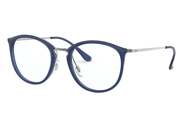 Ray-Ban 0RX7140-RB7140 Blue; Gunmetal OPTICAL