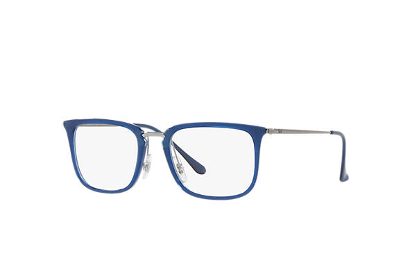 Ray-Ban 0RX7141-RB7141 Blau; Gunmetal OPTICAL