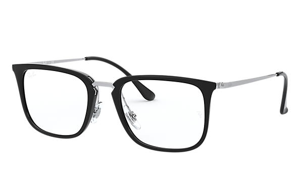 Ray-Ban 0RX7141-RB7141 Black; Silver OPTICAL