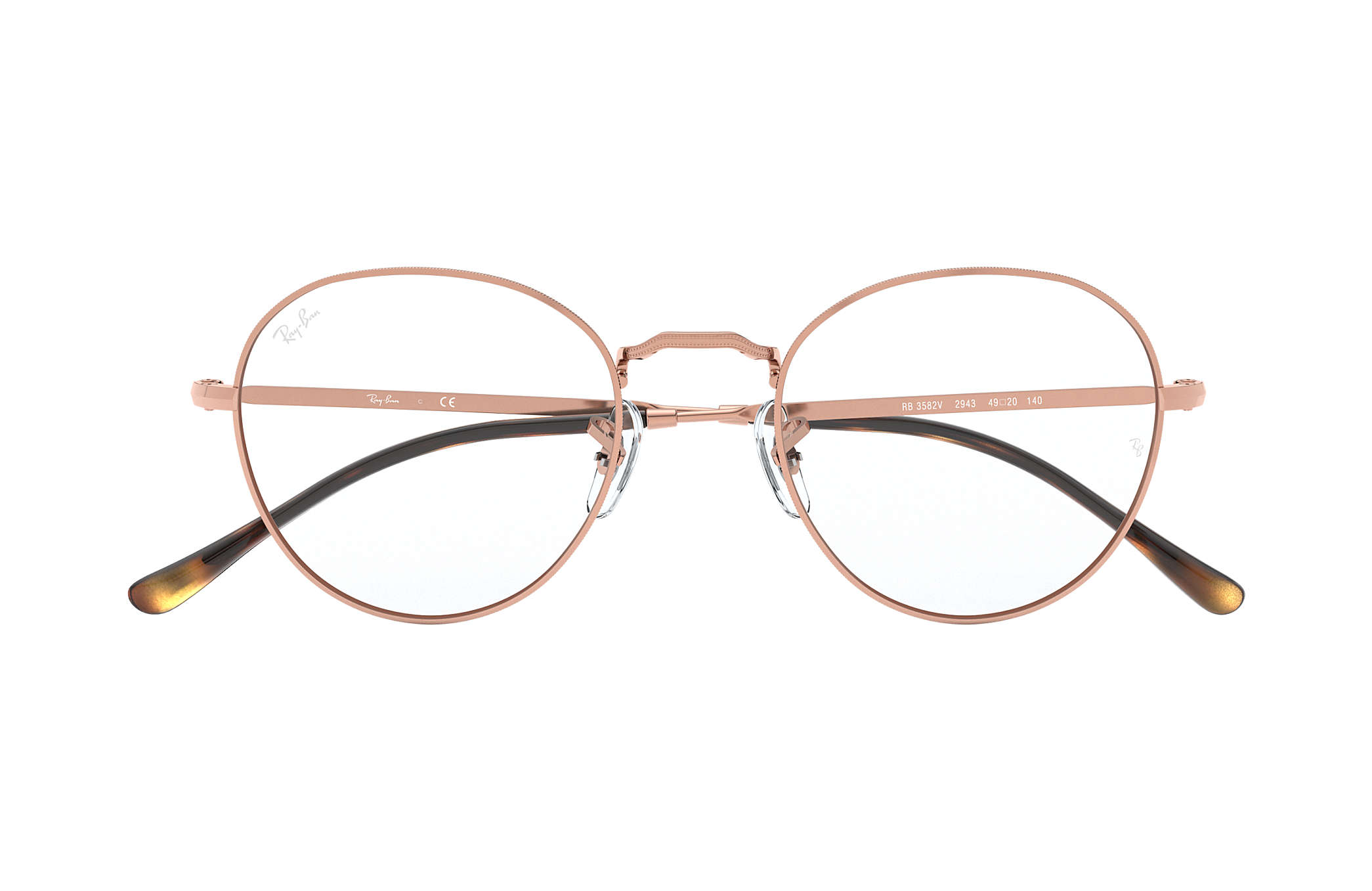 c526194f1a Ray-Ban eyeglasses RB3582V Bronze-Copper - Metal - 0RX3582V294351 ...