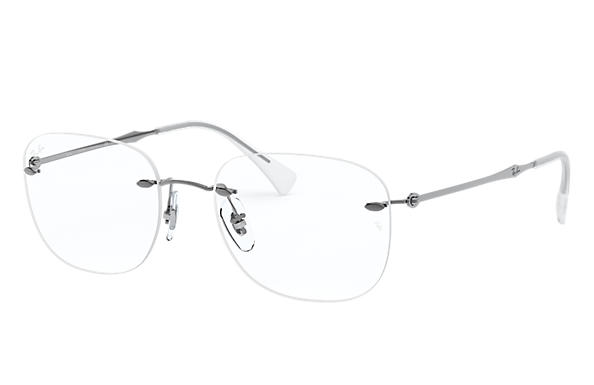 Ray-Ban 0RX8748-RB8748 Metaliczny OPTICAL