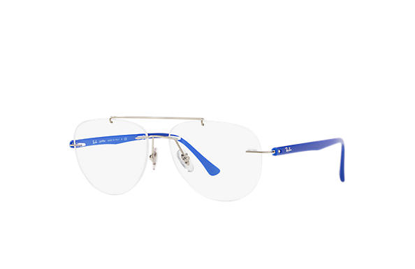 Ray-Ban 0RX8749-RB8749 Argent; Bleu OPTICAL