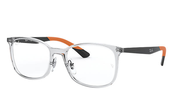 Ray-Ban 0RX7142-RB7142 Transparent; Black OPTICAL