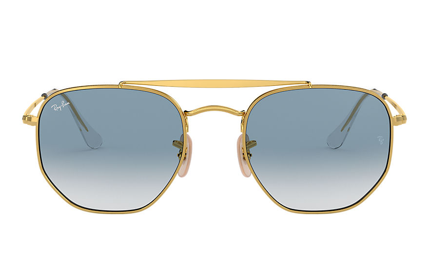 Ray-Ban  sonnenbrillen RB3648 MALE 002 marshal gold 8053672828078
