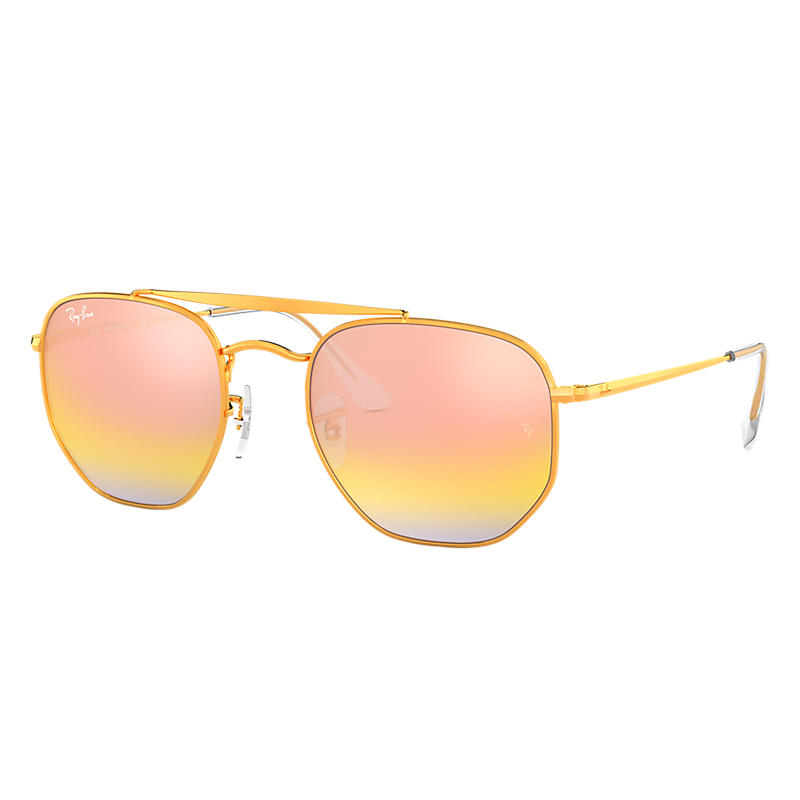 Ray-Ban Marshal Copper Sunglasses, Pink Lenses -