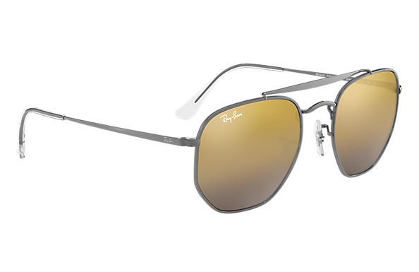 RAY BAN RAY-BAN Herren Sonnenbrille »THE MARSHAL RB3648«, grau, 004/I3 - grau/silber