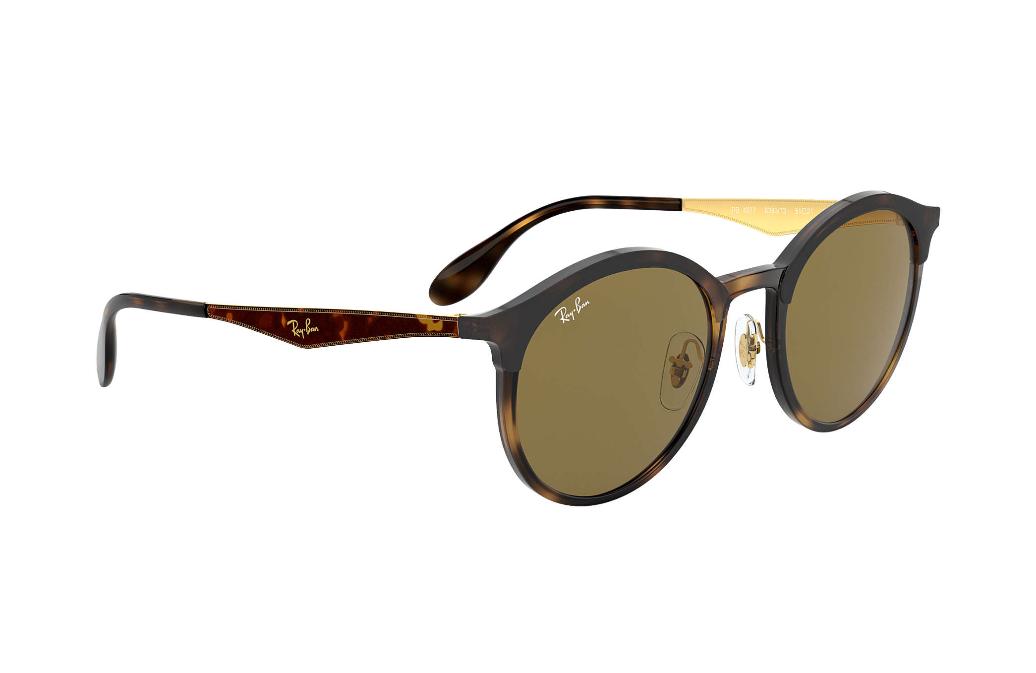 328cfd0b5f Ray-Ban Emma RB4277 Tortoise - Injected - Brown Lenses ...