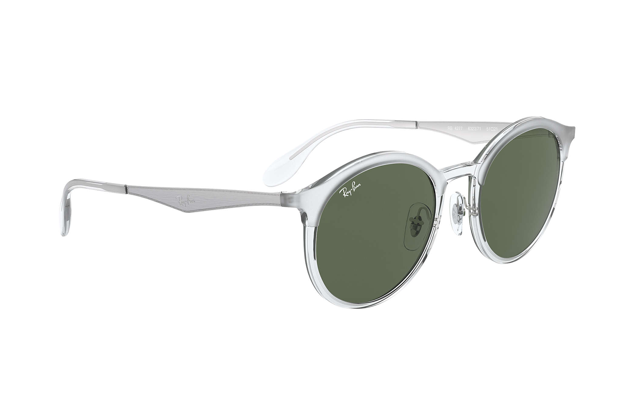 8509a17ff9c Ray-Ban Emma RB4277 Transparent - Injected - Green Lenses ...