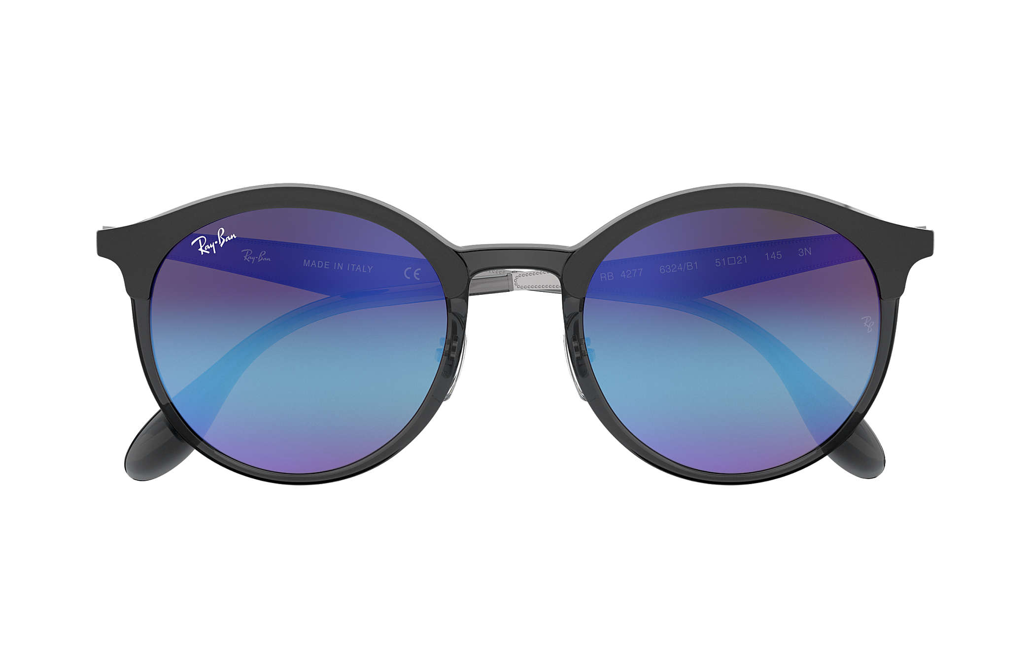2ff7721d9a Ray-Ban Emma RB4277 Grey - Injected - Blue Violet Lenses ...
