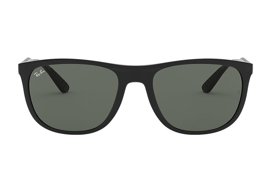 Ray-Ban RB4291 Black with Green Classic lens