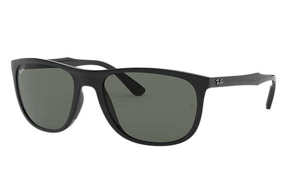a2f780d614 Ray-Ban RB4291 Black - Nylon - Green Lenses - 0RB4291601 7158