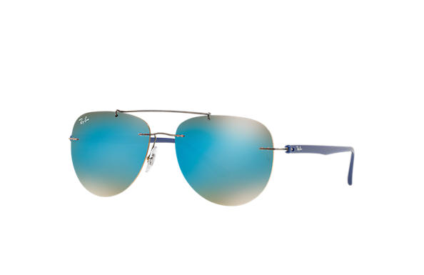 Ray-Ban 0RB8059-RB8059 Gunmetal; Blue SUN