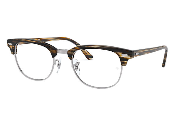 Ray-Ban 0RX5154-Clubmaster Optics Brown OPTICAL