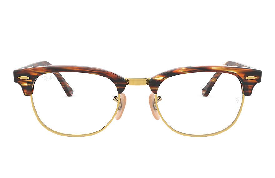 Ray-Ban  eyeglasses RX5154 MALE 004 clubmaster optics 브라운 8053672832792