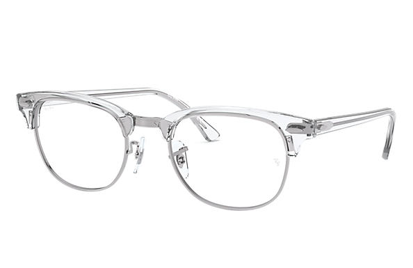 Ray-Ban 0RX5154-Clubmaster Optics Transparent OPTICAL