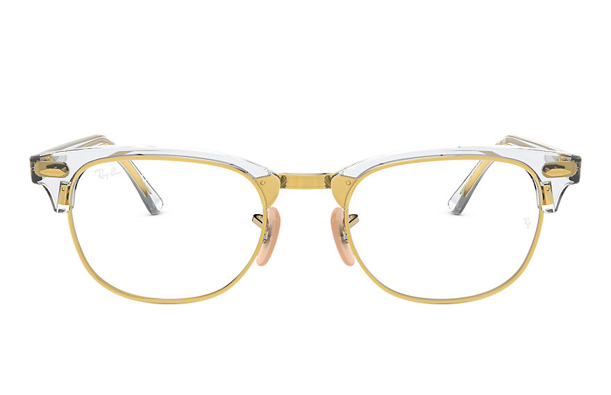 Ray-Ban  eyeglasses RX5154 MALE 002 clubmaster optics transparent 8053672832822