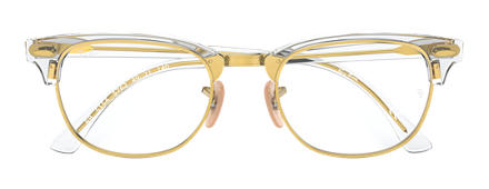 Ray-Ban Clubmaster Optics Transparent
