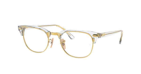 Ray-Ban prescription glasses Clubmaster Optics RB5154 Transparent ... b0ba3c014dad