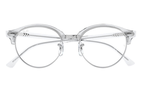 Ray-Ban CLUBROUND OPTICS Transparent