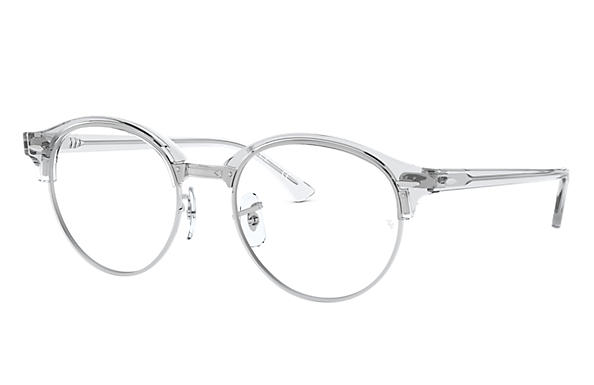 Ray-Ban 0RX4246V-CLUBROUND OPTICS Transparent OPTICAL