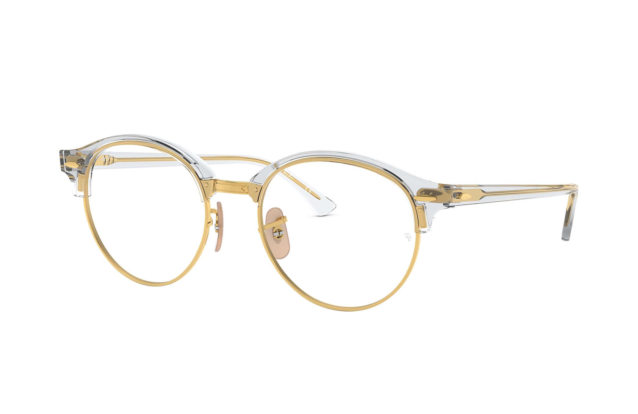 f115107238e82 Ray-Ban prescription glasses Clubround Optics RB4246V Transparent ...