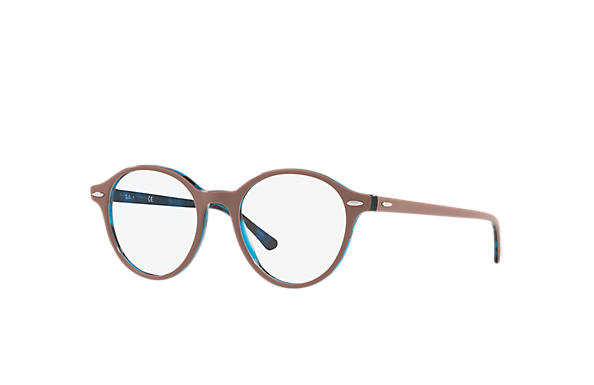 7be30af44a9 Ray-Ban prescription glasses Dean RB7118 Light Brown - Propionate ...