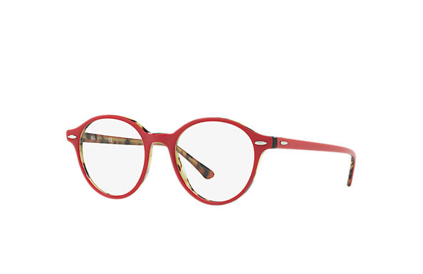 Ray-Ban 0RX7118-DEAN Bordeaux,Tortoise OPTICAL