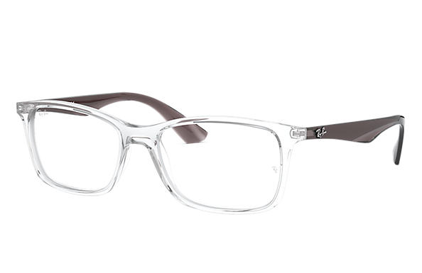 1b87568f65 Ray-Ban prescription glasses RB7047 Transparent - Injected ...