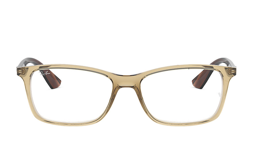 Ray-Ban  eyeglasses RX7047 MALE 001 rb7047 light brown 8053672833447