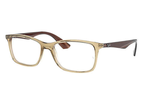 Ray-Ban 0RX7047-RB7047 Light Brown; Brown OPTICAL