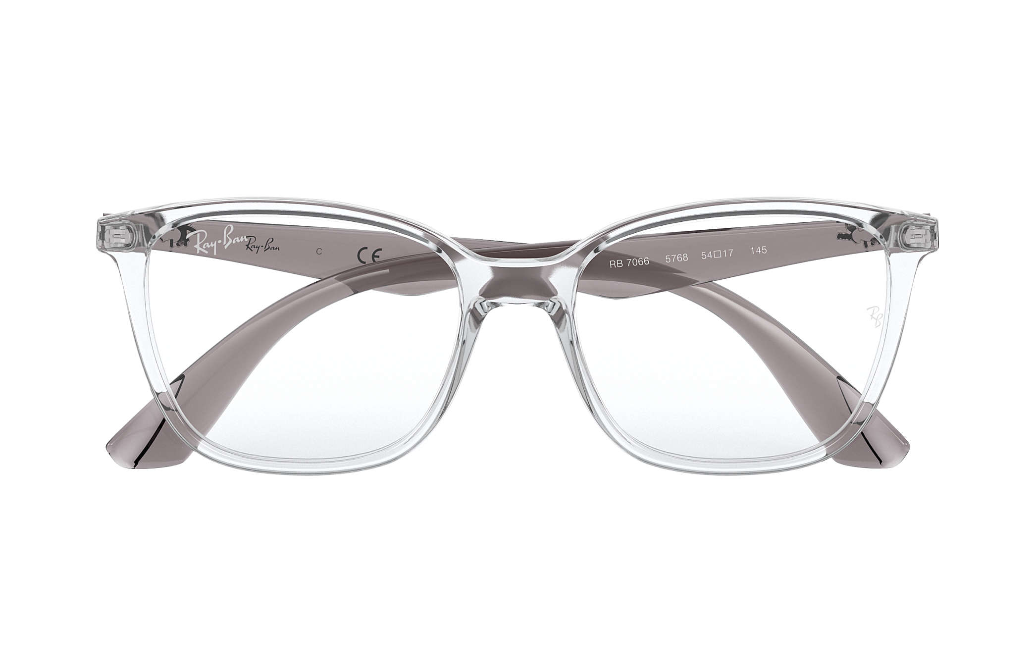 Ray Ban eyeglasses RB7066 Transparent Injected