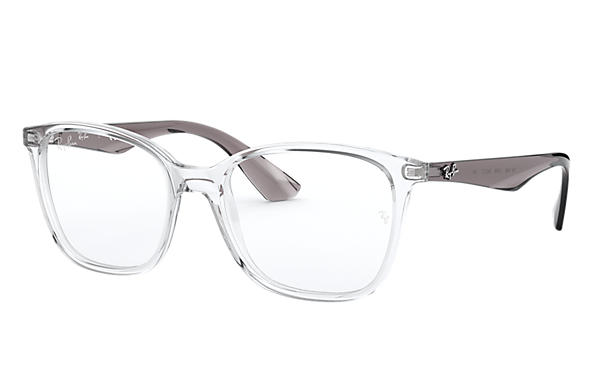 Ray-Ban 0RX7066-RB7066 Transparent; Grey OPTICAL