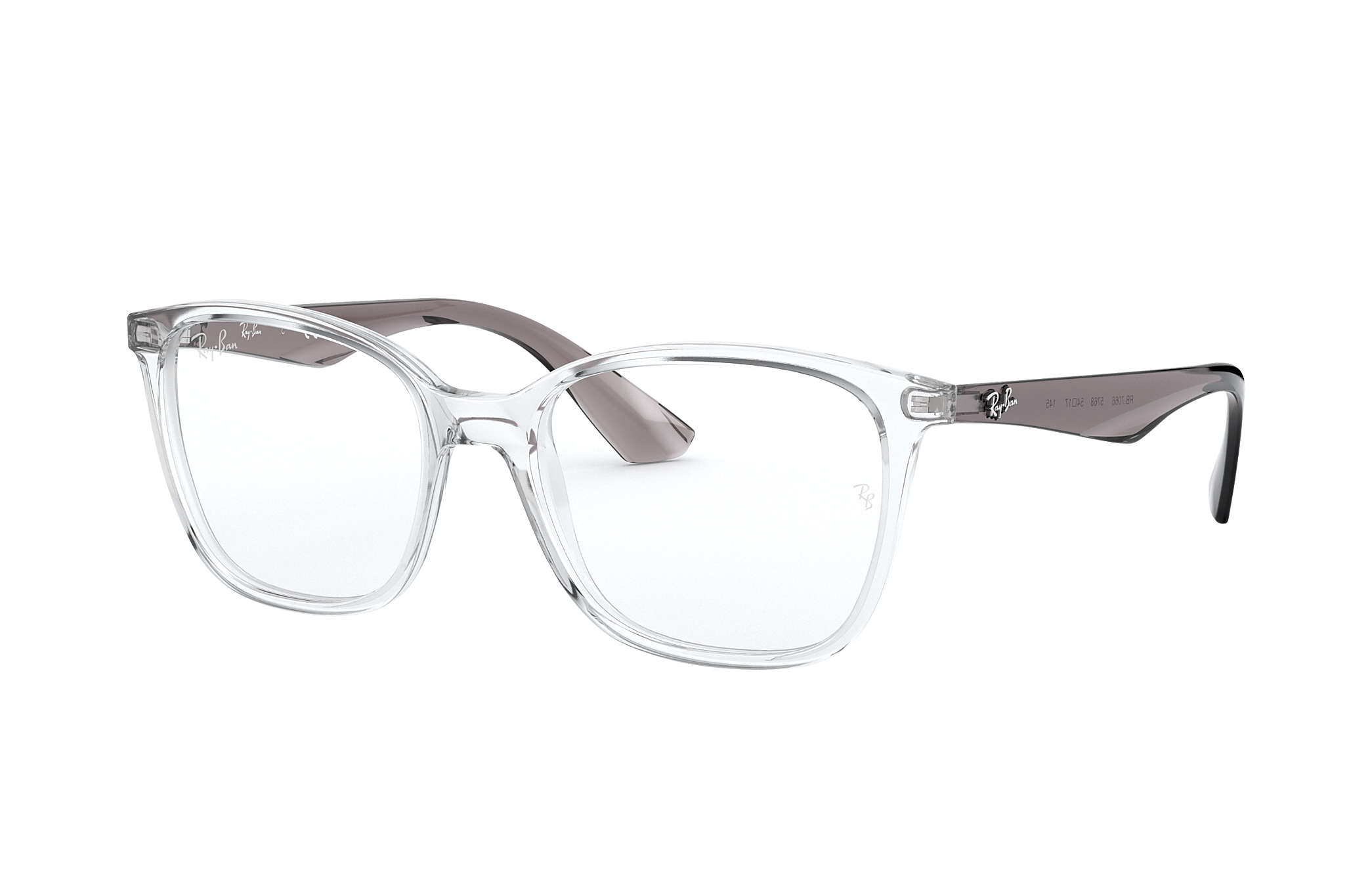 08a2ce713366b Ray-Ban prescription glasses RB7066 Transparent - Injected ...