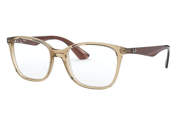 Ray-Ban 0RX7066-RB7066 Marrone Chiaro; Marrone OPTICAL