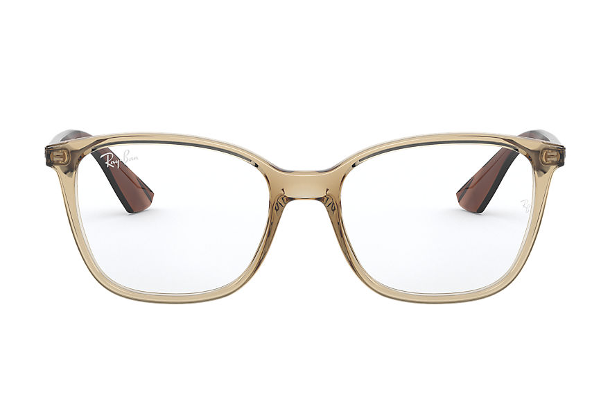 Ray-Ban  eyeglasses RX7066 MALE 003 rb7066 light brown 8053672833515