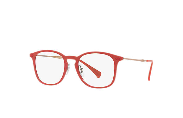 Ray-Ban 0RX8954-RB8954 Red; Light Brown OPTICAL