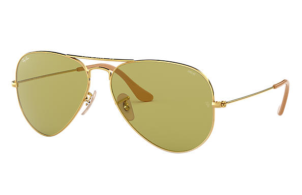 Ray-Ban		 0RB3025-AVIATOR EVOLVE Gold SUN