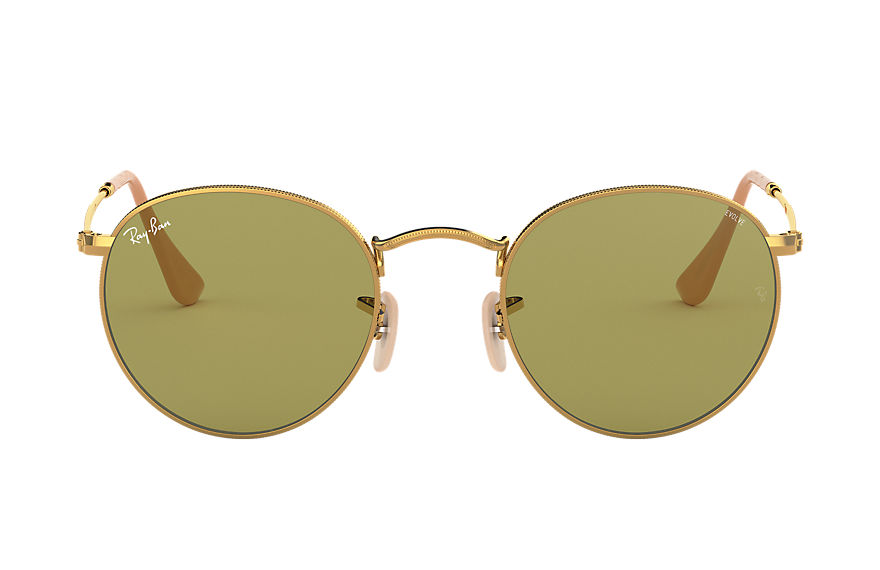 Ray-Ban  sunglasses RB3447 MALE 004 round washed evolve gold 8053672834062