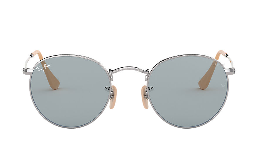 Ray-Ban  sunglasses RB3447 MALE 003 round washed evolve silver 8053672834109