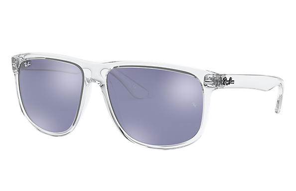Ray-Ban RB4147 Transparent - Injected - Pink Lenses - 0RB41476325E460   Ray- Ban® USA c3e14826d6e3