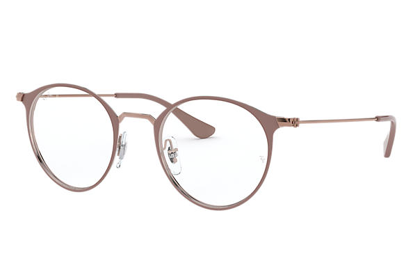 Ray-Ban 0RX6378-RB6378 Marrone Chiaro; Bronzo-Rame OPTICAL