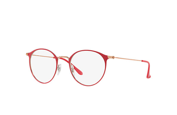 Ray-Ban 0RX6378-RB6378 Rojo; Bronce-Cobre OPTICAL