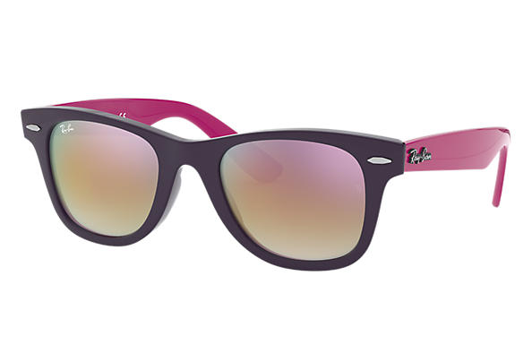 Ray-Ban		 0RJ9066S-WAYFARER JUNIOR Violet; Purple-Reddish SUN