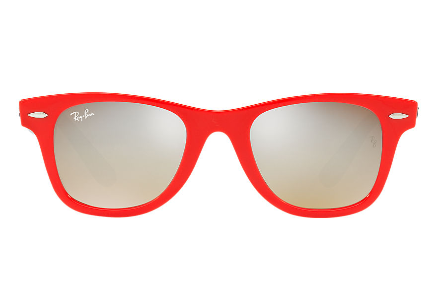 Ray-Ban  sunglasses RJ9066S CHILD 005 wayfarer junior red 8053672834505