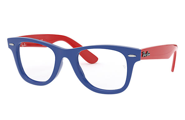 Ray-Ban 0RY9066V-WAYFARER JUNIOR OPTICS Blue; Red OPTICAL
