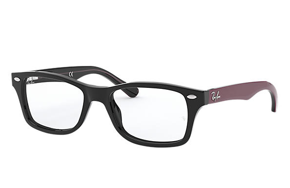 Ray-Ban		 0RY1531-RB1531 Black; Bordeaux OPTICAL