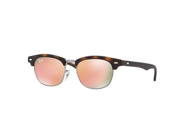7e32d452d9 Ray-Ban Clubmaster Junior RB9050S Tortoise - Nylon - Copper Lenses ...