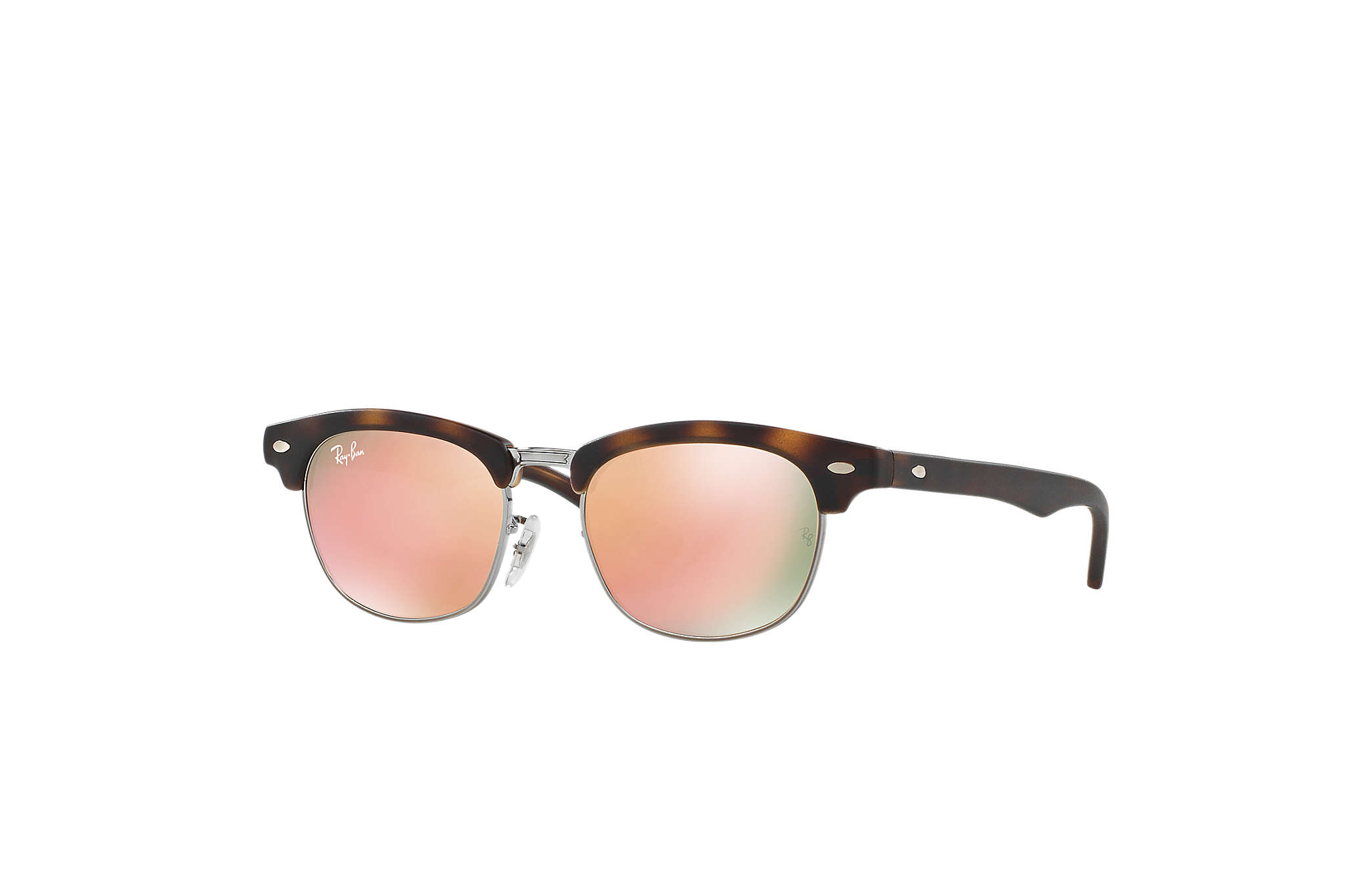 8568a58eeaaa3 Ray-Ban Clubmaster Junior RB9050S Tortoise - Nylon - Copper Lenses ...